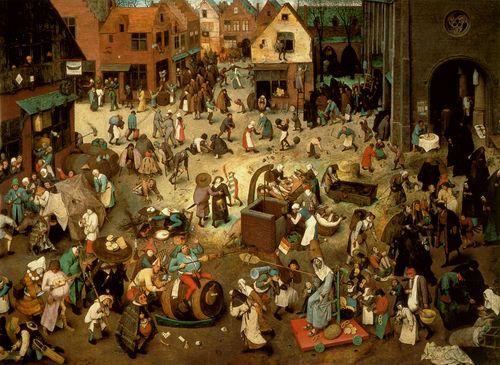 Bruegel- Battle Between Carnival and Lent